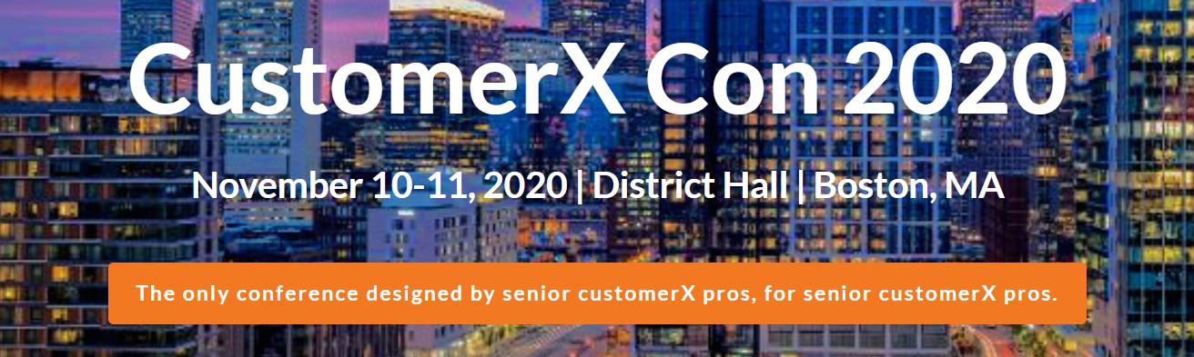 CustomerX Con 2020
